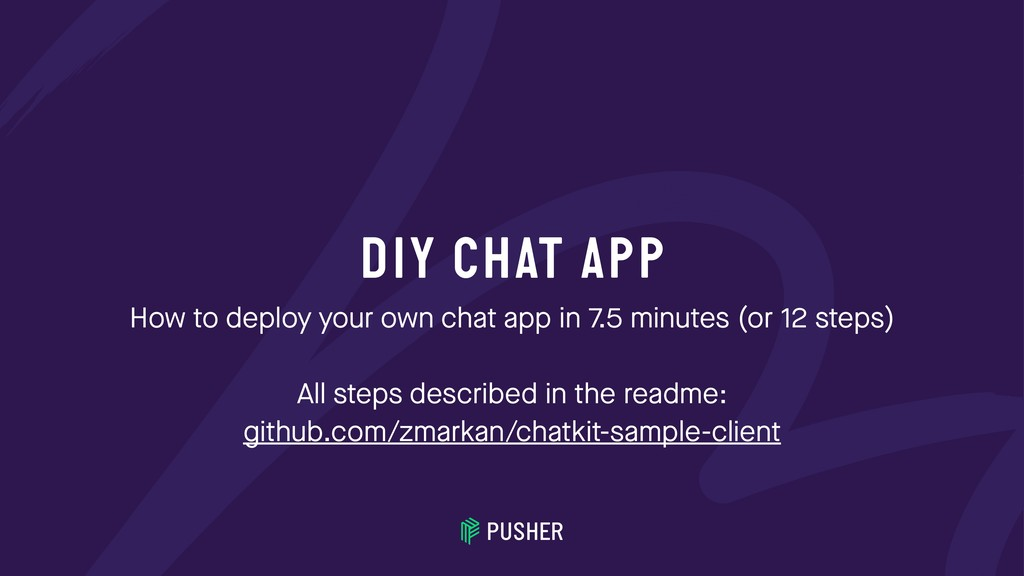 DIY CHAT APP How to deploy your own chat app in...