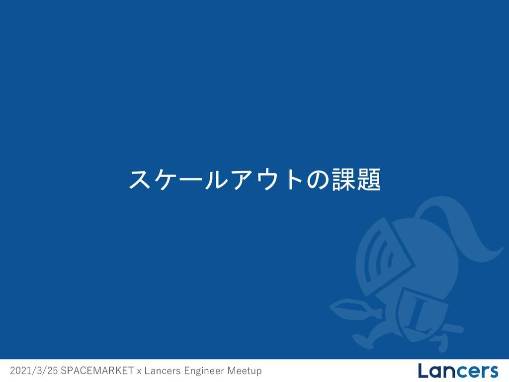 2021/3/25 SPACEMARKET x Lancers Engineer Meetup...