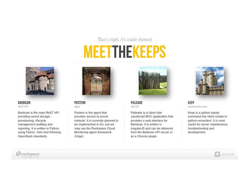That's right, it's castle themed meettheKeeps B...