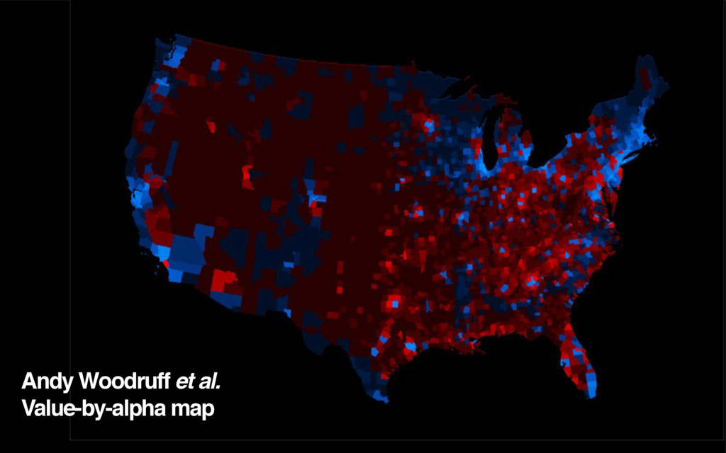 Andy Woodruff et al. Value-by-alpha map