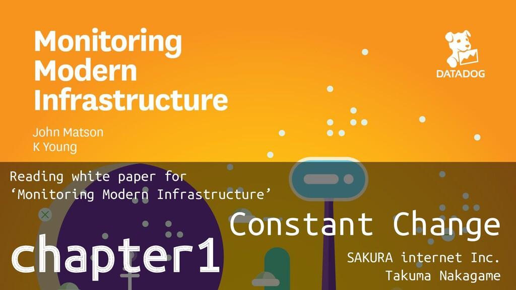 chapter1 Constant Change SAKURA internet Inc. T...