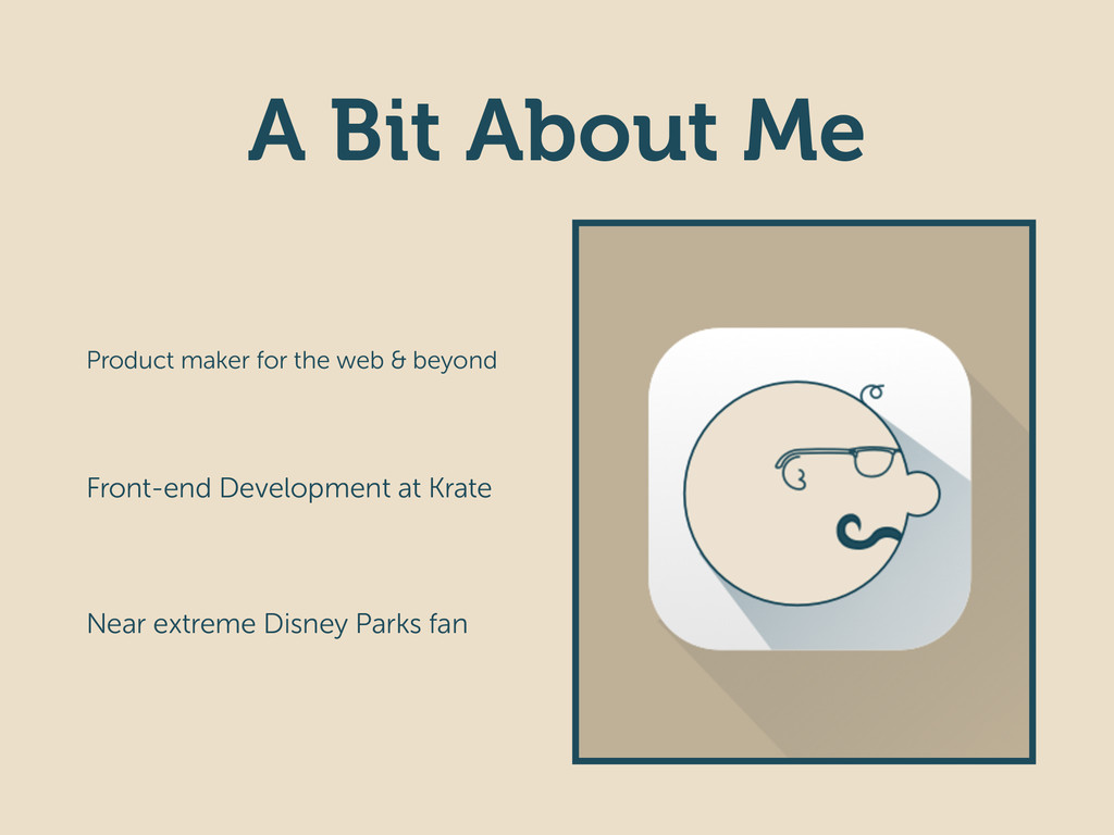 A Bit About Me Product maker for the web & beyo...