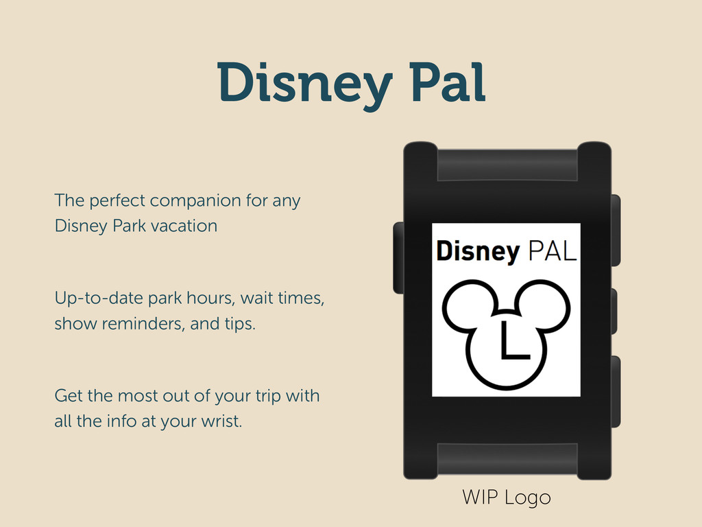 Disney Pal The perfect companion for any Disney...