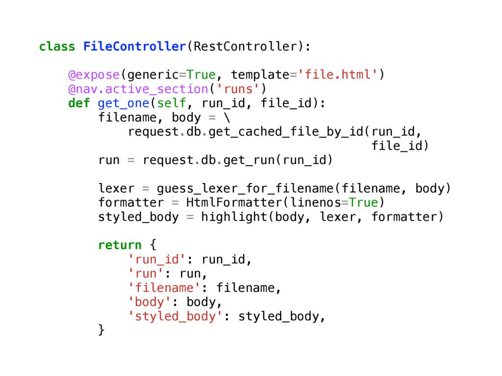 class FileController(RestController): @expose(g...