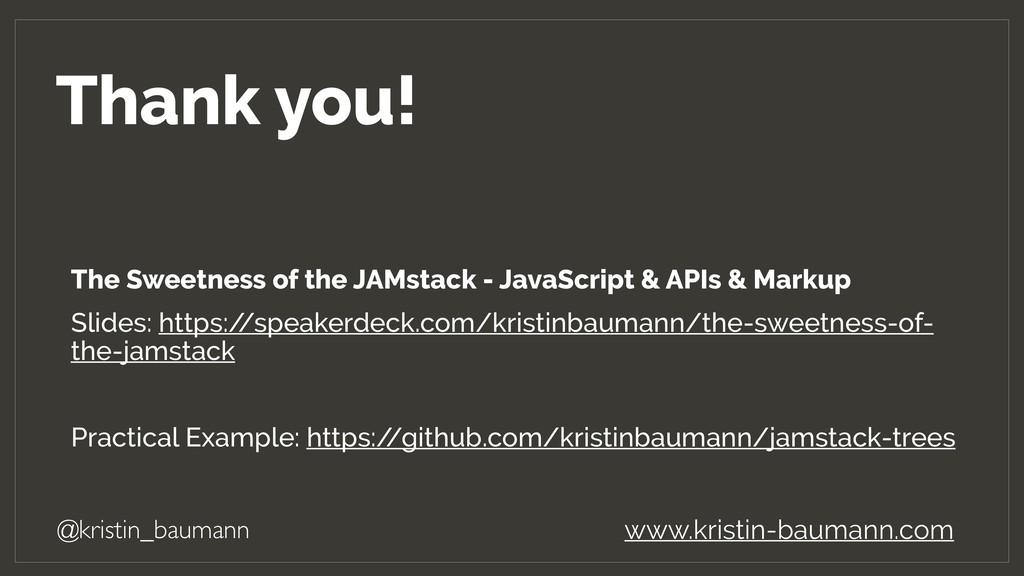Thank you! @kristin_baumann www.kristin-baumann...