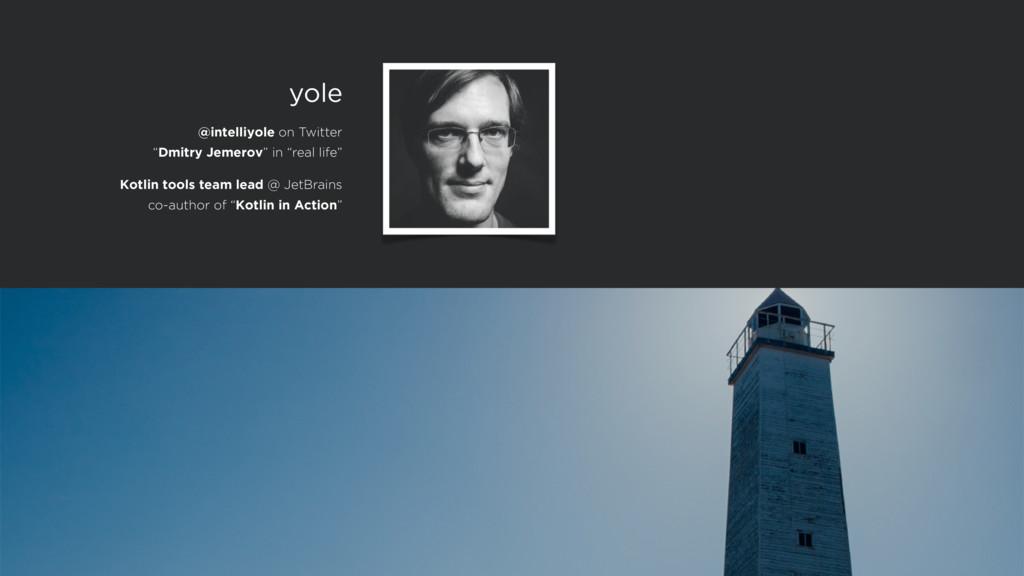 Kotlin tools team lead @ JetBrains co-author of...