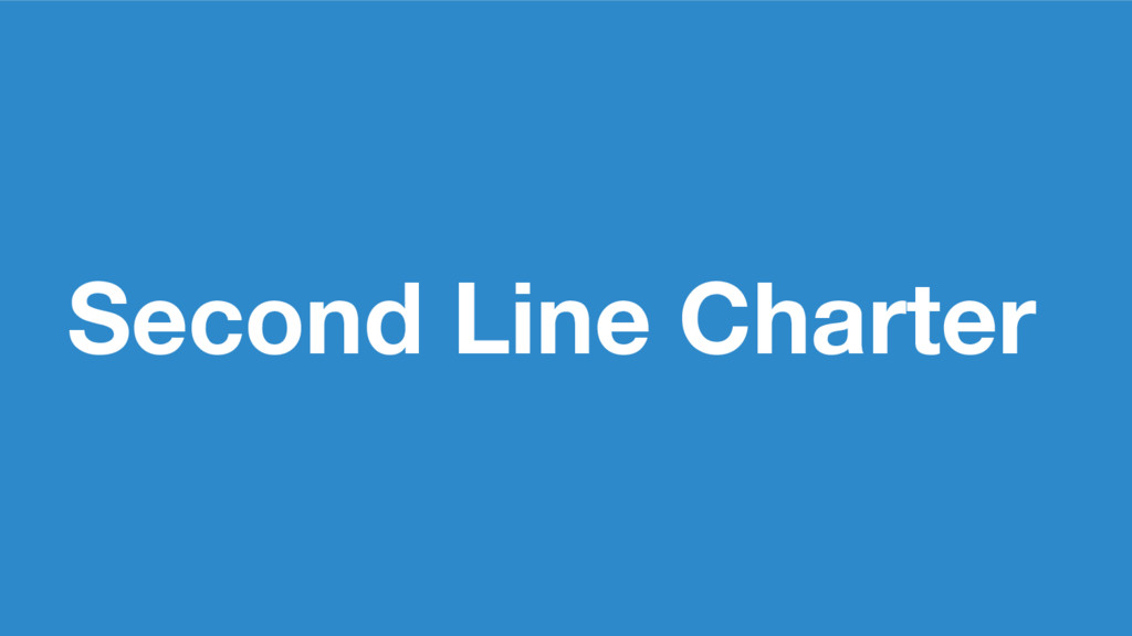 Second Line Charter