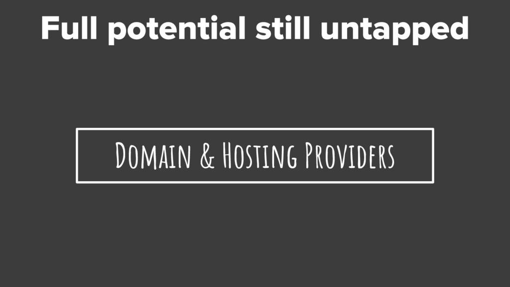 Domain & Hosting Providers