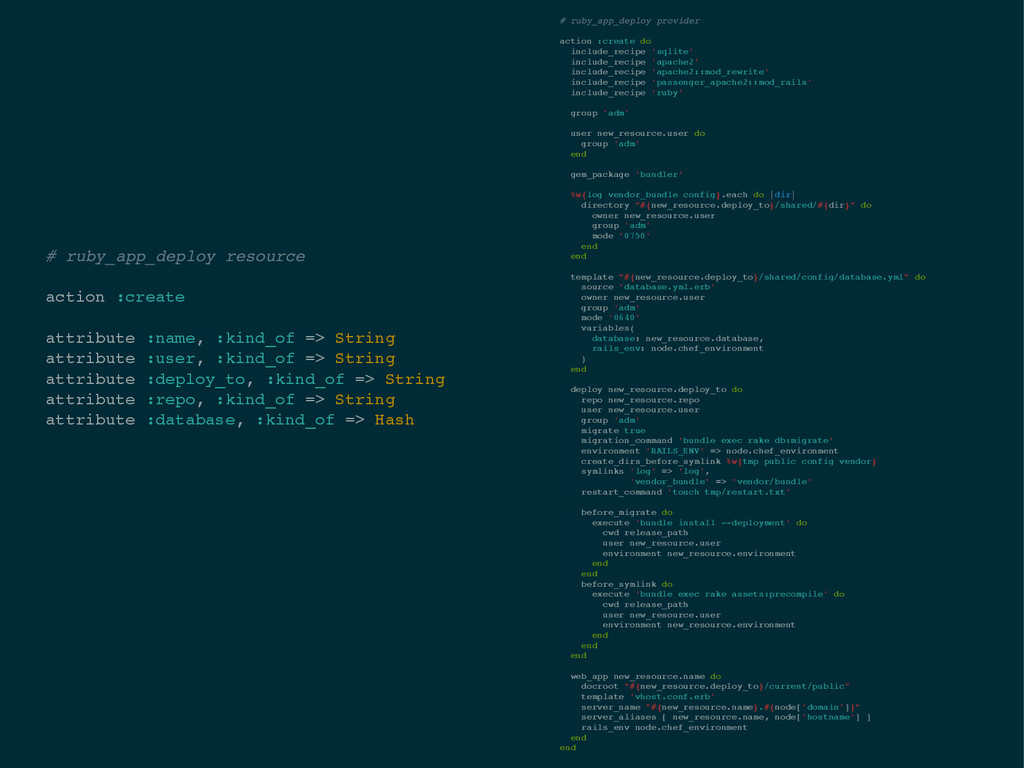 # ruby_app_deploy resource! ! action :create! !...