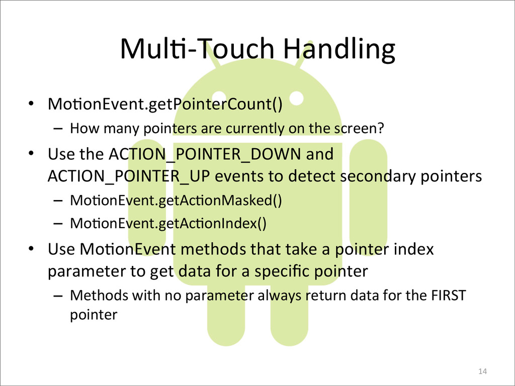 MulE-­‐Touch	