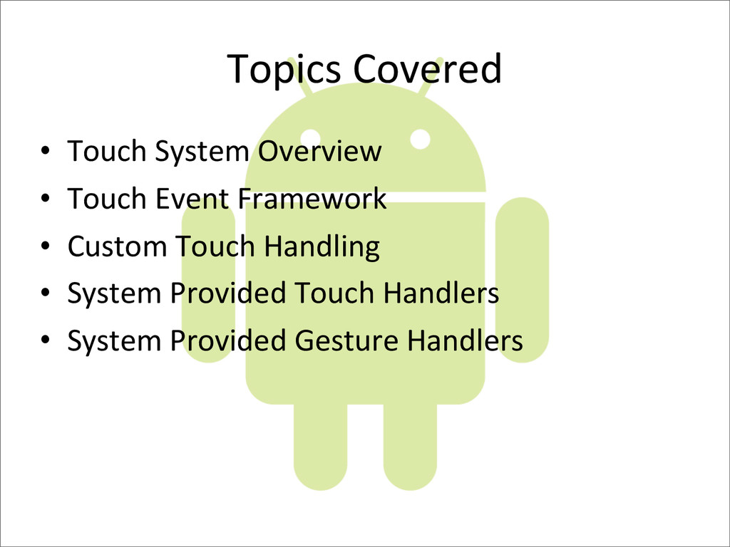 Topics	