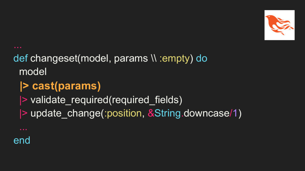 ... def changeset(model, params \\ :empty) do m...