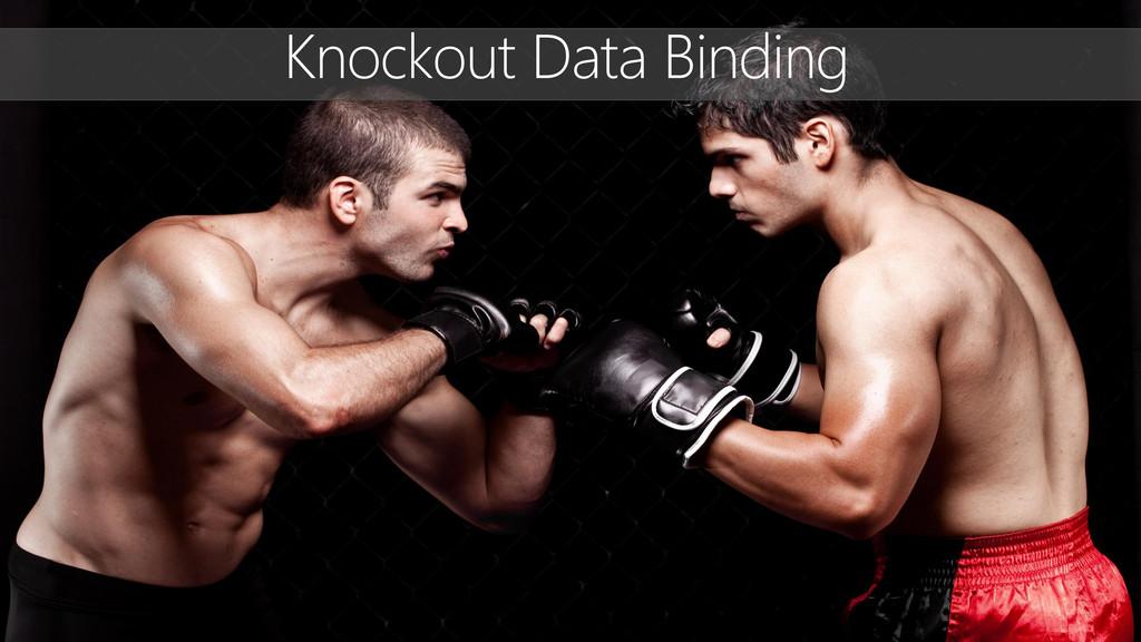 Knockout Data Binding