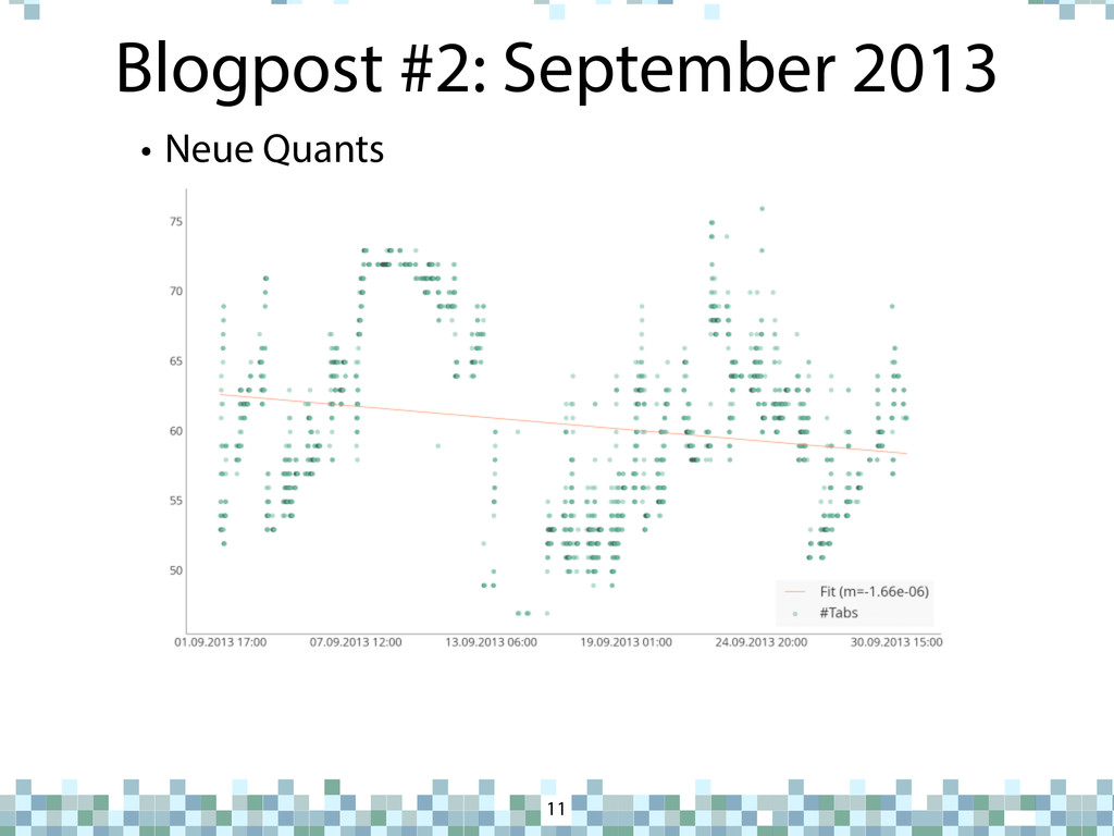 Blogpost #2: September 2013 11 • Neue Quants - ...