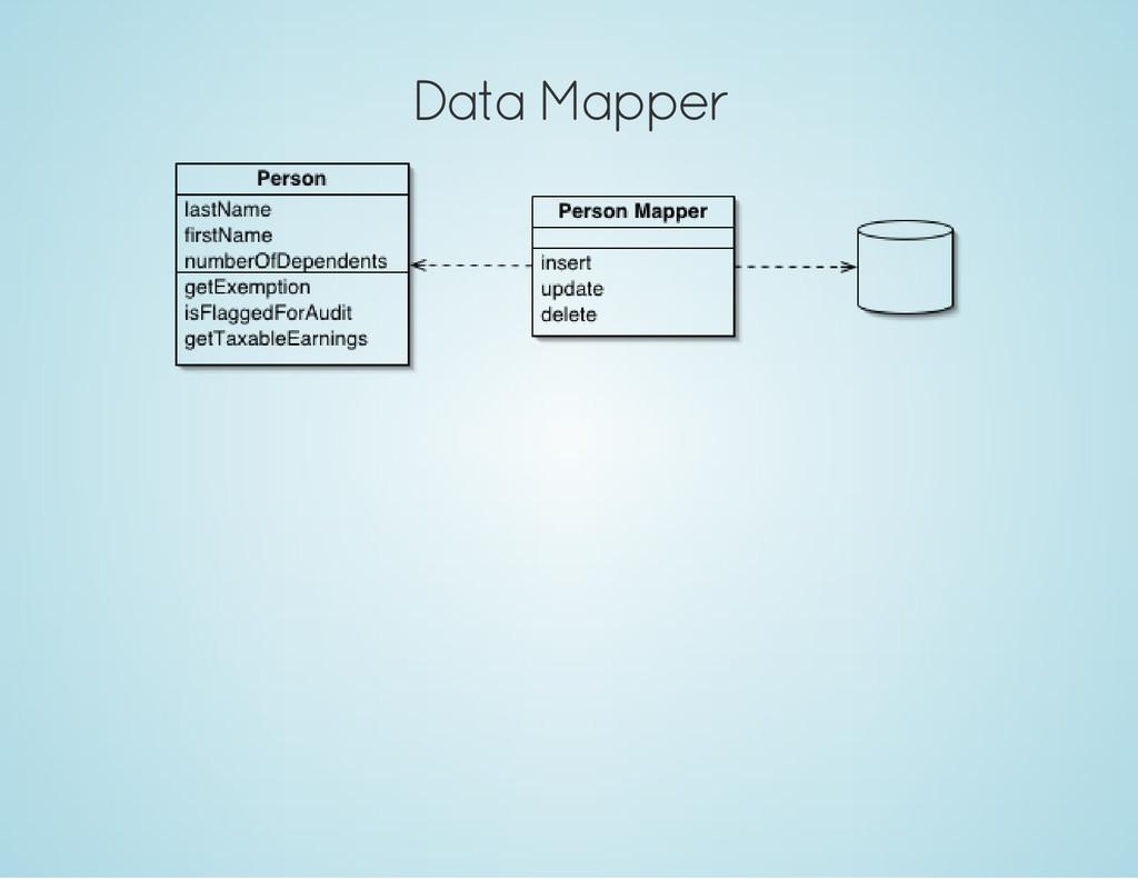 Data Mapper