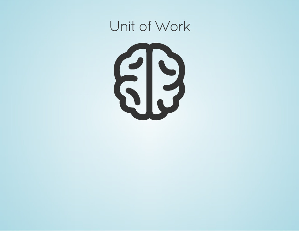 Unit of Work