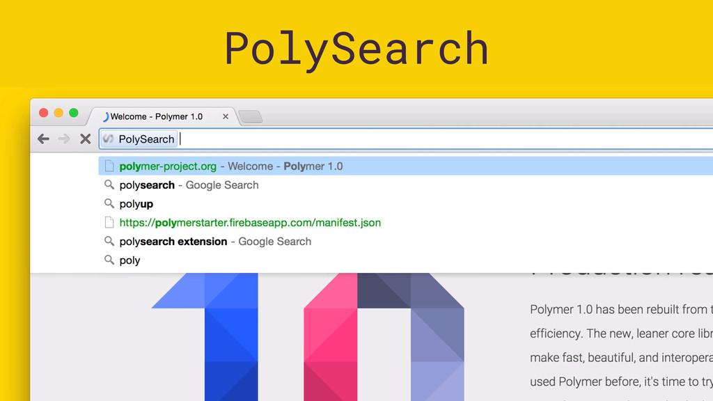 PolySearch Images: Eiji Kitamura