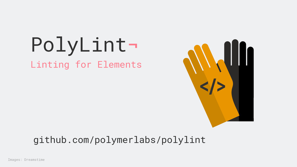 PolyLint¬ </> Linting for Elements github.com/p...
