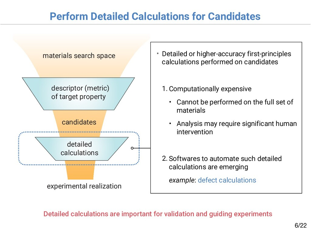 Perform Detailed Calculations for Candidates /2...