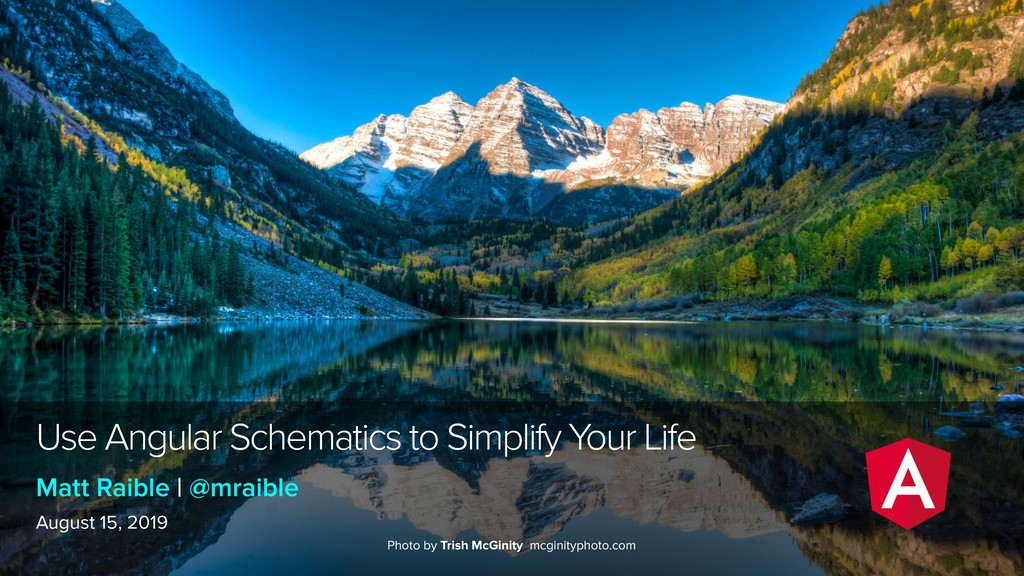 Use Angular Schematics to Simplify Your Life Au...