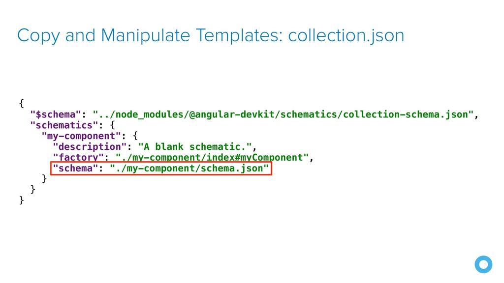 Copy and Manipulate Templates: collection.json ...