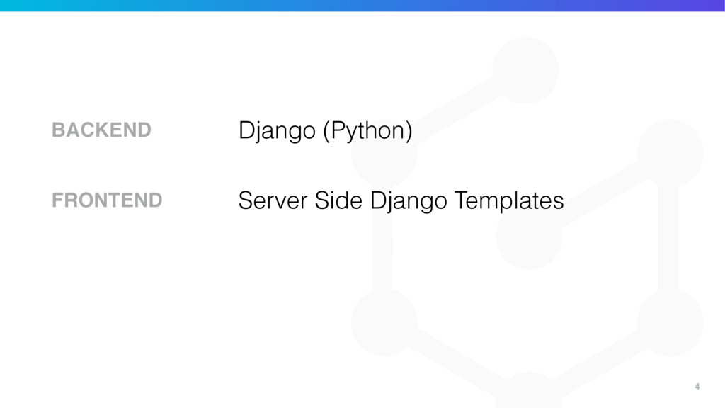 4 Django (Python) BACKEND Server Side Django Te...