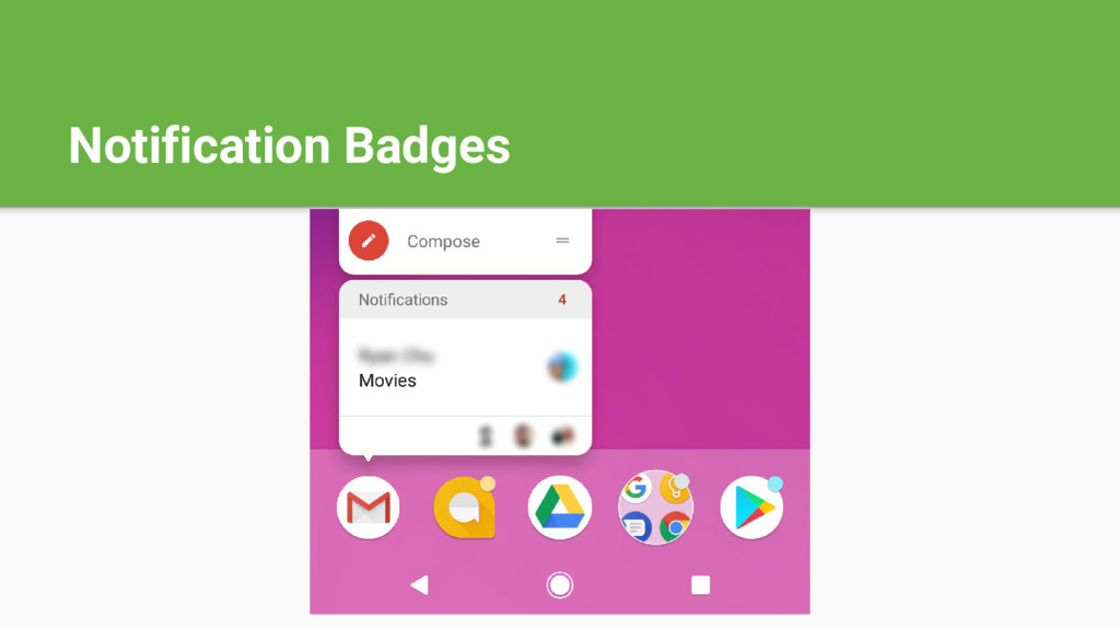 Notification Badges