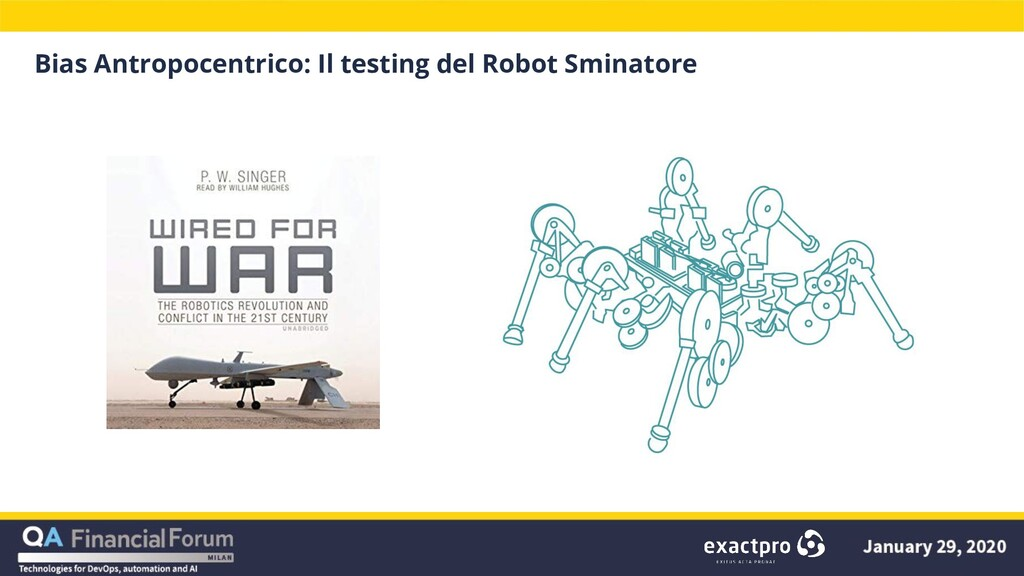 Bias Antropocentrico: Il testing del Robot Smin...