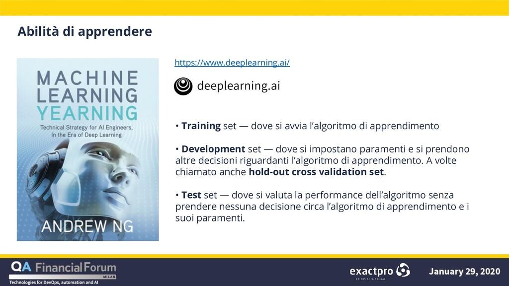 Abilità di apprendere https://www.deeplearning....