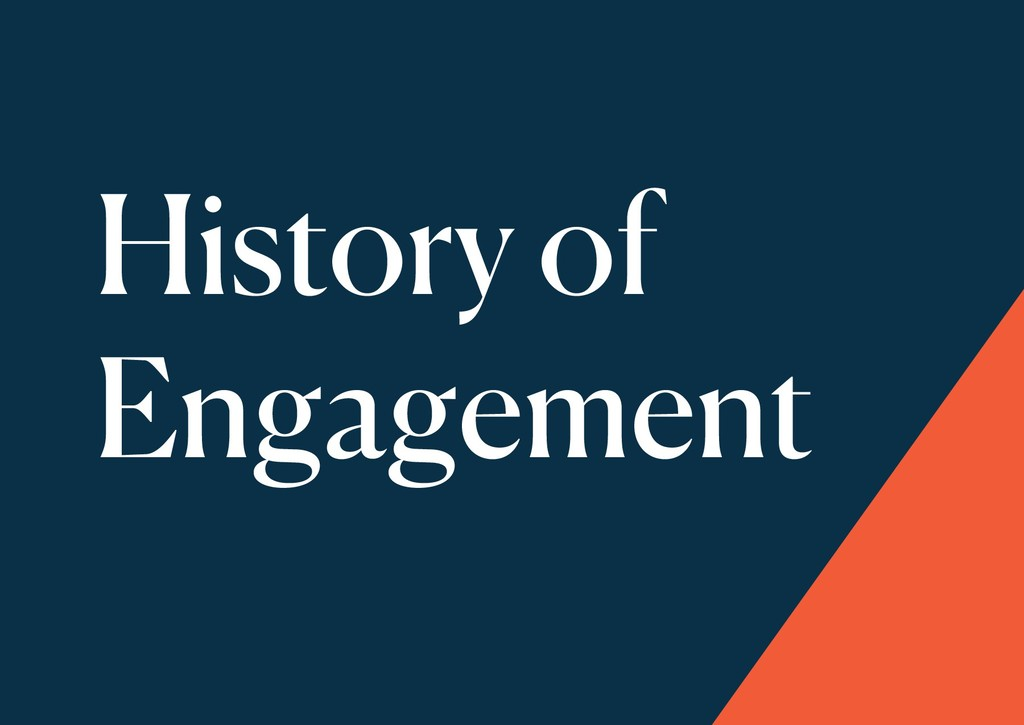 History of Engagement