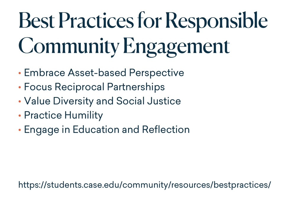 Best Practices for Responsible Community Engage...