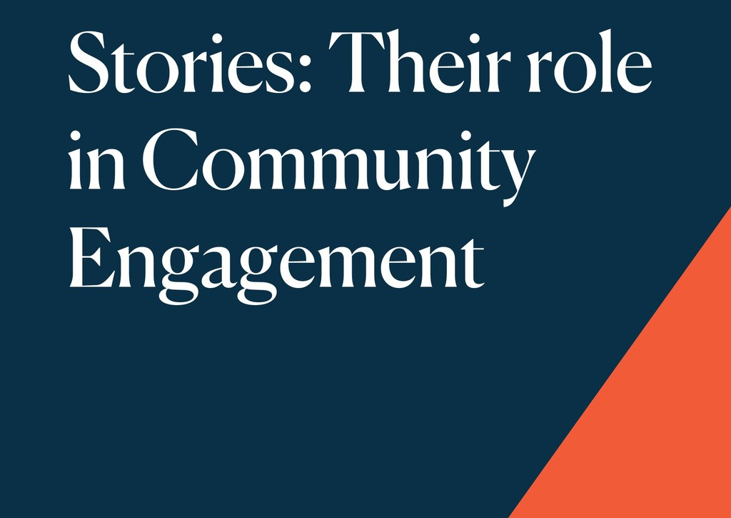 Stories: Their role in Community Engagement