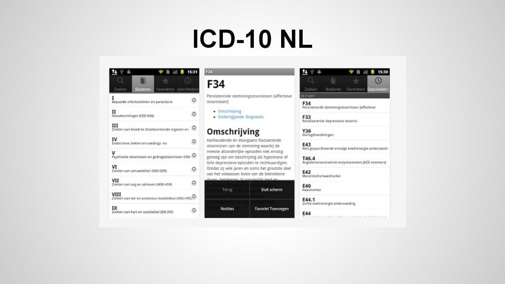 ICD-10 NL