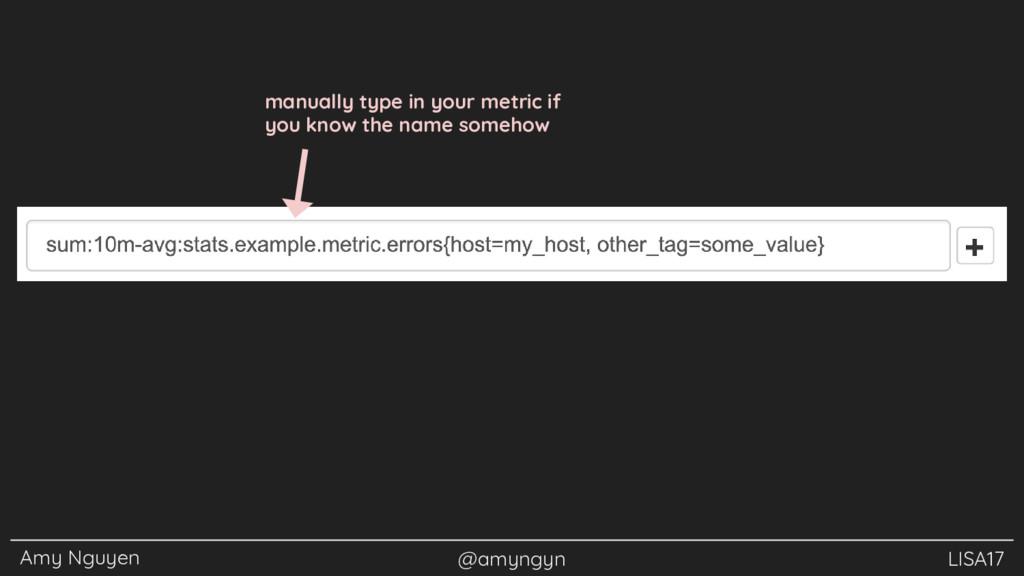 Amy Nguyen @amyngyn LISA17 manually type in you...