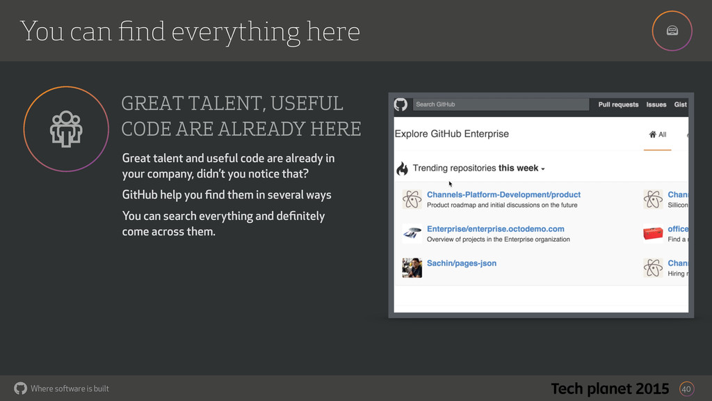 ! Where software is built You can find everythin...