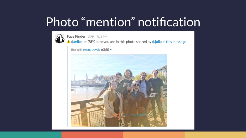"Photo ""mention"" notification"