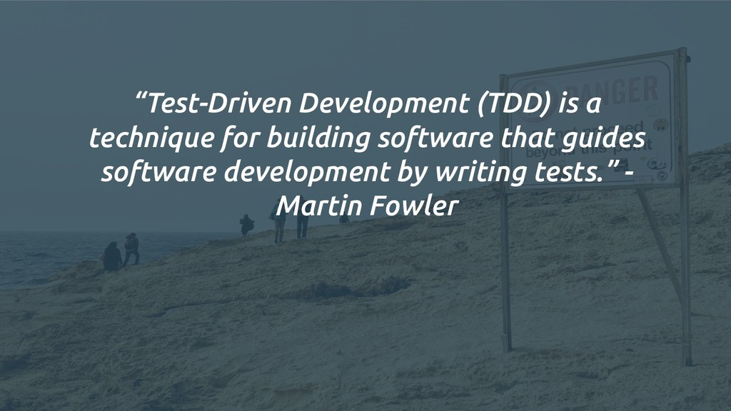 """Test-Driven Development (TDD) is a technique f..."