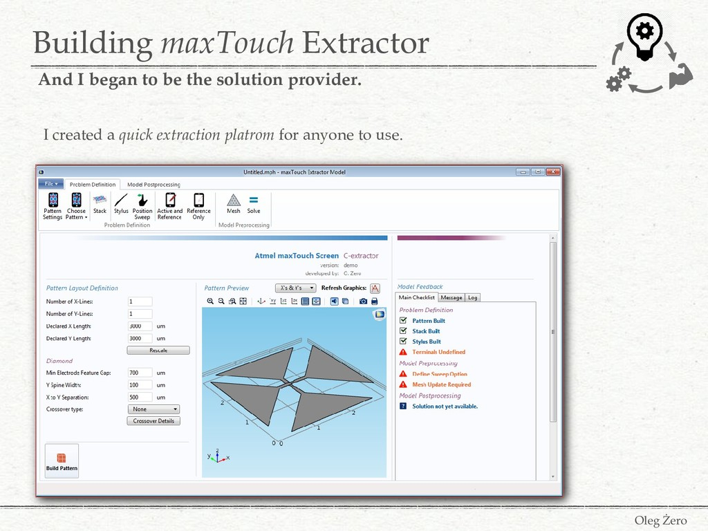 Building maxTouch Extractor Oleg Żero And I beg...