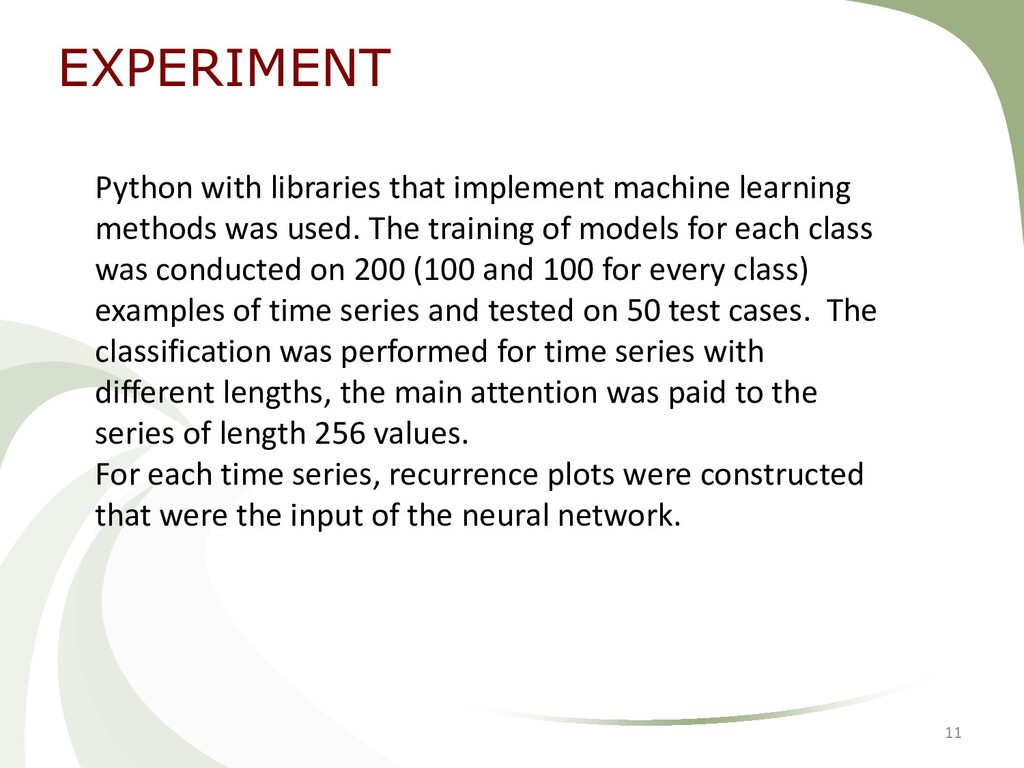 EXPERIMENT 11 Python with libraries that implem...