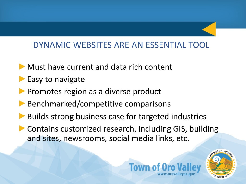 DYNAMIC WEBSITES ARE AN ESSENTIAL TOOL Must hav...