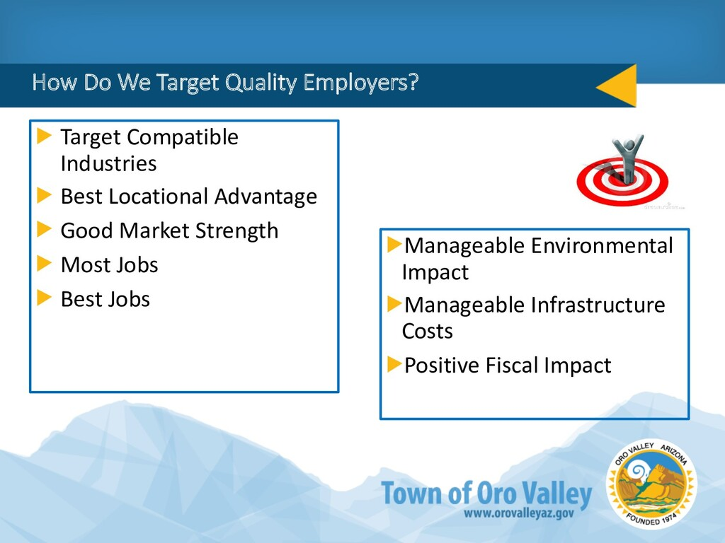 How Do We Target Quality Employers? Target Comp...
