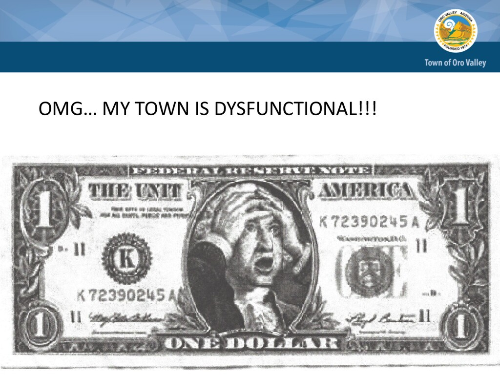 OMG… MY TOWN IS DYSFUNCTIONAL!!!