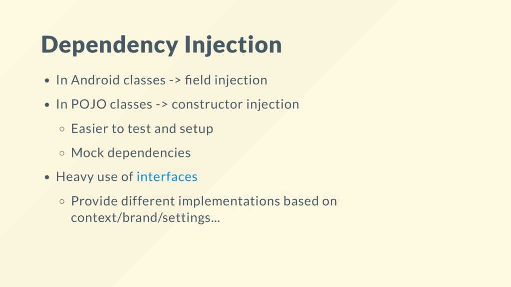 Dependency Injection In Android classes -> eld ...