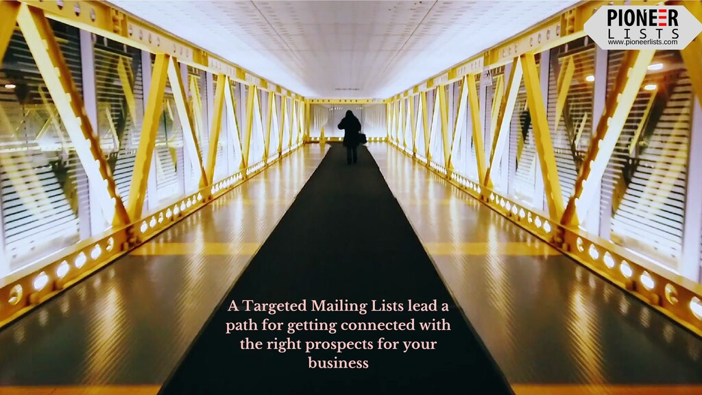 www.pioneerlists.com A Targeted Mailing Lists l...