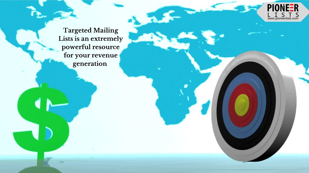 www.pioneerlists.com Targeted Mailing Lists is ...
