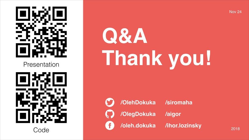 /oleh.dokuka /OlegDokuka /OlehDokuka Q&A Thank ...