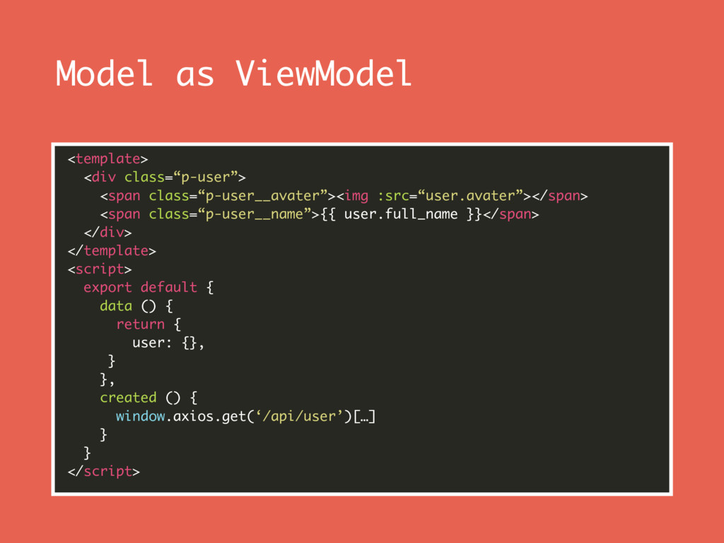 """Model as ViewModel <template> <div class=""""p-us..."""