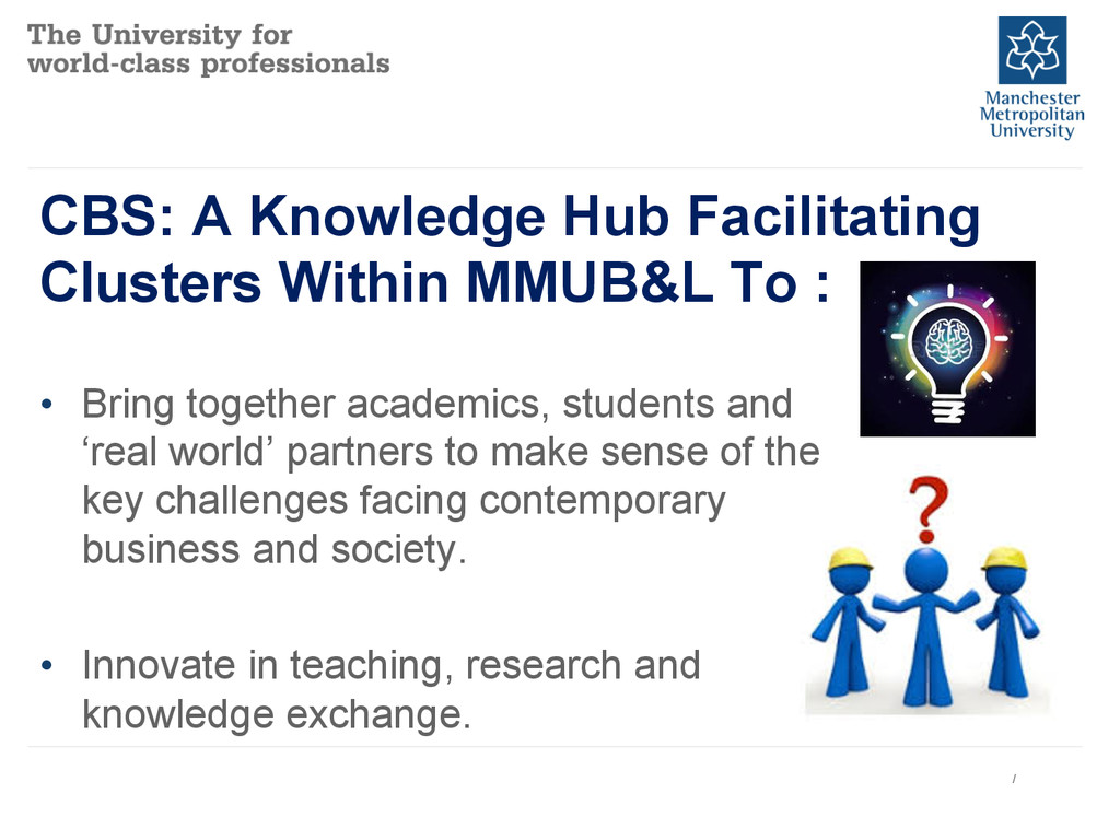 CBS: A Knowledge Hub Facilitating Clusters With...