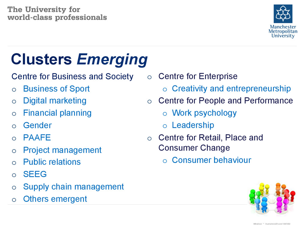 Clusters Emerging Centre for Business and Socie...