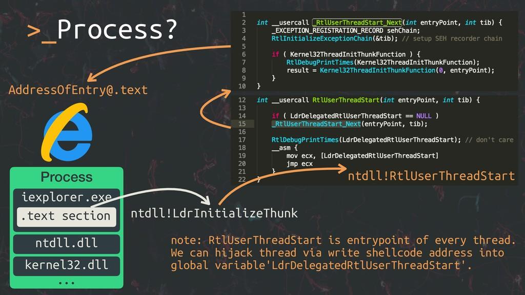 >_Process? ntdll!LdrInitializeThunk AddressOfEn...